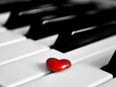 Rose Piano Wallpaper Love