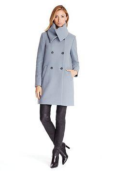 'Moyna' | Virgin Wool Blend Coat by HUGO