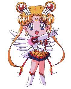 Eternal Sailor Moon chibi