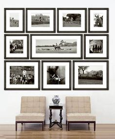 Great in a family room, living area or foyer/entrance. This can really showcase your family & friends in the form of art. The black and white contrast is the key!