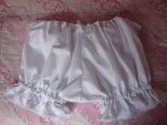 RESERVED White Cotton Sateen and Tulle Bloomers « Lace Market: Lolita Fashion Sales and Auctions