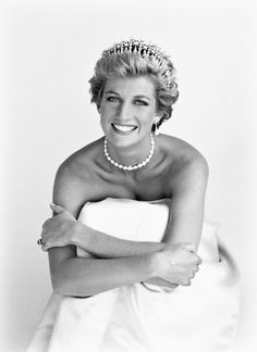 Diana, Princess of Wales by Patrick Demarchelier 1990