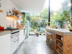 Eclectic Kitchen, Kitchen Interior, Home Interior Design, Kitchen Dinning, New Kitchen, Kitchen Decor, Küchen Design, House Design, Berlin Apartment