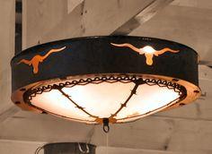 Cherokee Iron Works | Rustic & Western Lighting | Rustic & Western Chandeliers | Rustic & Western Home Decorations - Longhorn