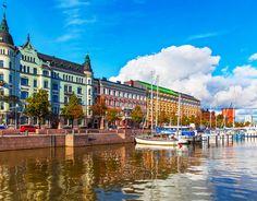Helsinki Helsinki, Finland Finland Trip Ideas sky water scene Town landmark cityscape waterway Harbor River Canal Resort palace dock marina