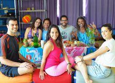 Confraternização da Blyss Yoga Barra @yogabarradatijuca. Mal entrei de férias e já estou com saudades de dar aulas.