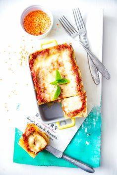 picante-jalapeno.blogspot.com: Lasagne z cukinią i soczewicą (bez mięsa)