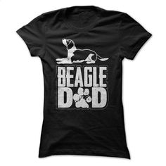 Beagle Dad T Shirt, Hoodie, Sweatshirts - custom tee shirts #teeshirt #clothing