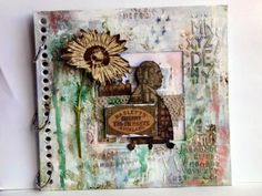 Welcome GD: Kate Yetter Project #1 Art Journal Cover {Part 1}