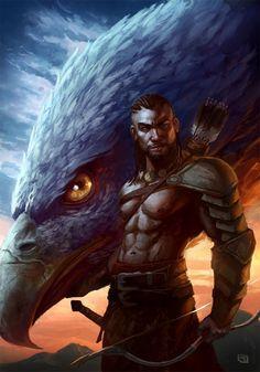 """War Chief"" #barbarian #ranger"