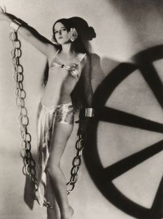 Louise Brooks as Ziegfeld girl…