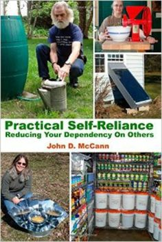 Practical self-reliance is to look at the things you've purchased or been given and make something new from it. To make it last beyond it's useful life. Find out how John McCann does it | PreparednessMama