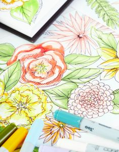 Flowers are in full bloom. 🌸🌼🌺 And so is our creativity! In our Sketching Online Class, you'll get started with basic sketching techniques, and then learn how to take your work from 2D to 3D (seriously!) By the end, you'll be able to use your new skills to create a custom geometric floral art piece! Curious? Shop on brit.co. #IAmCreative #BCClasses