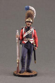 Grenadier of Oldenburg Regiment. Denmark, 1807-13.