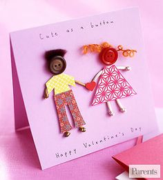 Fun and easy craft gifts kids can make and give to celebrate Valentine's Day.