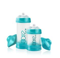 Bitty Lab Bare Bottles have a unique design that enables baby's suction to control the amount of milk they take in, and the frequency of each sip. Read more at weespring.com.