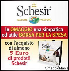 Shopper omaggio con Schesir e Isola dei Tesori - http://www.omaggiomania.com/omaggi-con-acquisto/shopper-omaggio-con-schesir-e-isola-dei-tesori/