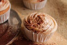 Cupcakes au cream cheese et à la crème de marrons {sans gluten} - aime & mange