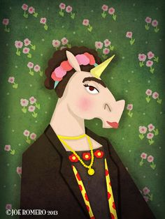 "A Unicorn a Day ""Frida Unicorn"""