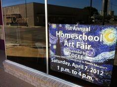 Art Fair for homeschool students