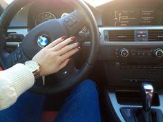 BMW plus nail color equals beauty!
