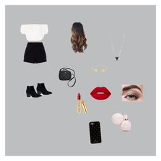 """""""Untitled"""" by moodydee ❤ liked on Polyvore featuring Oh My Love, Miss Selfridge, Dolce&Gabbana, Lord & Taylor, Lana, Avon, Lime Crime and Kate Spade"""