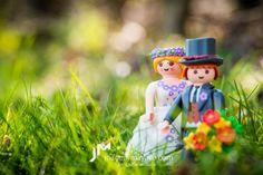 UNA BODA DIFERENTE CON CLICKS DE PLAYMOBIL  La boda de hoy es de las más originales que hemos publicado nunca!!! Estoy segura de que os va a gustar!. Más en Una Boda Original http://www.unabodaoriginal.es