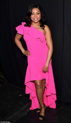9bd23160f3 Straight backstage: Taraji P. Henson skipped the red carpet at the Independent  Spirit Awards