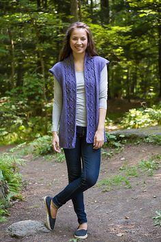 Knitting Patterns Galore - Soft Linen Vest