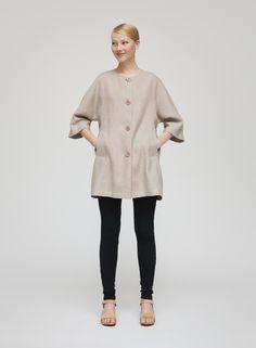 PEILI hør jakke fra Marimekko