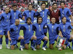 Italy's World Cup team