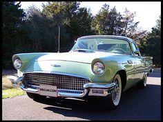 F90 1957 Ford Thunderbird  Rare Power Windows & Seats