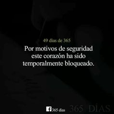 Por motivos de seguridad este corazón ha sido temporalmente bloqueado. Best Quotes, Love Quotes, Funny Quotes, Poems About Life, Quotes En Espanol, Missing You Quotes, Sad Love, Spanish Quotes, Poetry Quotes