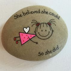 Image result for simple rock painting ideas