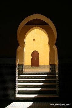 Mausoleum of Moulay Ismail in Meknes, Morocco