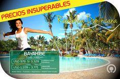 ¡#Bayahibees sin duda un destino caribeño imperdible☀! Una aventura inolvidable que empieza aquí ➡http://goo.gl/H6gCn4 Incluye: Boleto aéreo + Alojamiento + Alimentación (Según hotel seleccionado)
