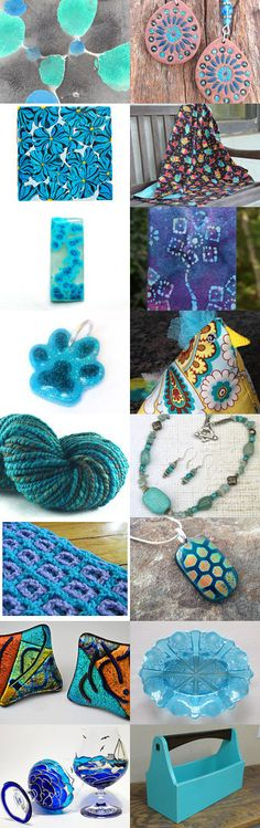 A bit of Turquoise by Jenny on Etsy--Pinned with TreasuryPin.com
