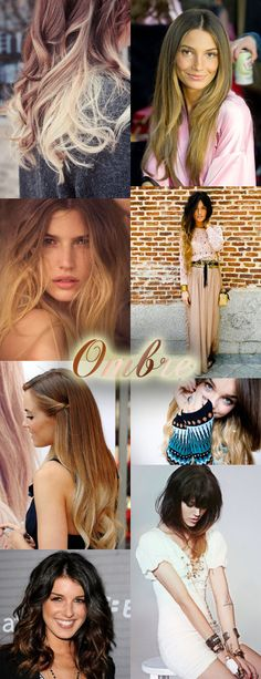 ombre hair - hot or not board - it's HOT!