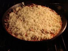 """Hillbilly Spaghetti Pie"" - from @Sugar Pie Farmhouse."