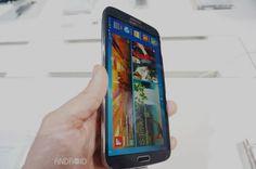 Samsung Galaxy Mega 6.3, primeras impresiones en vídeo desde Londres http://www.xatakandroid.com/p/92052