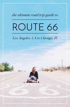 I'm so excited to share this guide with you! If you're thinking about driving Route 66 then look through this guide that includes: trip cost breakdown, an editable Google document with all the stops, an interactive map + more. Have fun! | Maddily #roadtrip