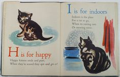 THE KITTENS ABC - Clare Turlay Newberry. 1946