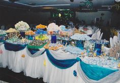 Finding Nemo party - dessert table