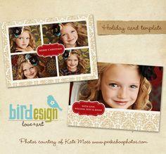 Holiday Photocard | Gold Garden
