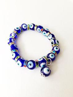 Cute Jewelry, Diy Jewelry, Bangle Bracelets, Bangles, Necklaces, Plastic Jewelry, Evil Eye Charm, Eye Protection, Evil Eye Bracelet