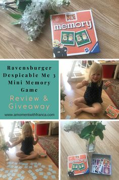 Ravensburger Despicable Me 3 Mini Memory Game Review & Giveaway • A Moment With Franca Mini Games, Games To Play, Playing Games, Fun Activities For Kids, Group Activities, Despicable Me 3, Photo Games, Welcome To The Group, Memory Games