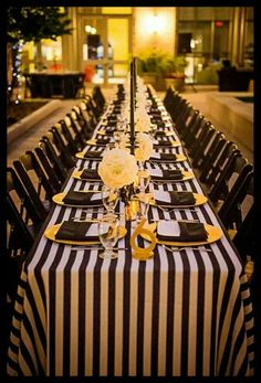 Black and Gold Wedding Decor . 24 Best Of Black and Gold Wedding Decor . Glamorous Black White and Gold Wedding with Sequin Bridesmaid Dresses Gold Party, Black Party, Wedding Table, Wedding Reception, Wedding Ideas, Reception Ideas, Party Wedding, Wedding Themes, Gold Wedding Decorations