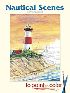 Nautical Scenes to Paint or Color (Dover Art Coloring Book) by Dot Barlowe http://www.amazon.com/dp/0486456935/ref=cm_sw_r_pi_dp_GiB5vb0BJCY1W