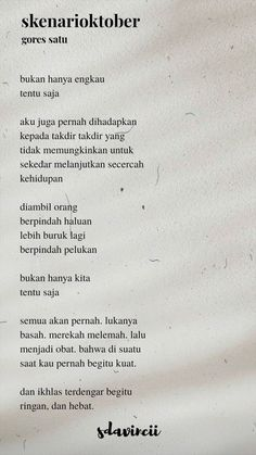 Heart Quotes, New Quotes, Poetry Quotes, Book Quotes, Words Quotes, Qoutes, Running Quotes, Reminder Quotes, Quotes Indonesia