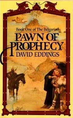 1st of The Belgariad books, one of the first series I read when i was a kid.